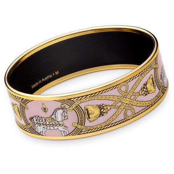 Hermes Enamel Bracelets Bangles Hermès Polyvore