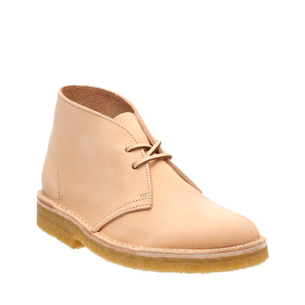 Desert Boot. Natural Veg Tan Leather