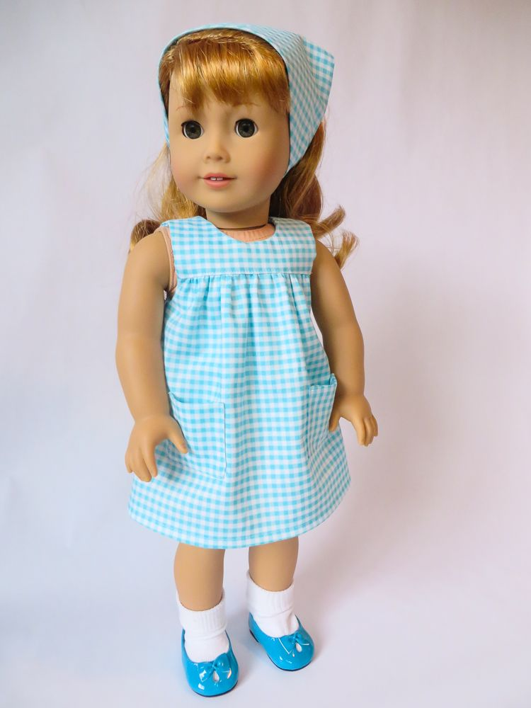 Scarf tutorial for dolls. Perfect for summer, 50s, 60s, 70s doll ...