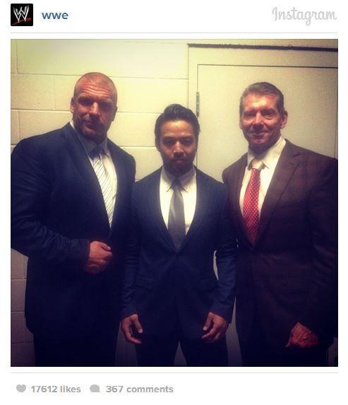 Vince McMahon Meets With KENTA - StillRealToUs.com