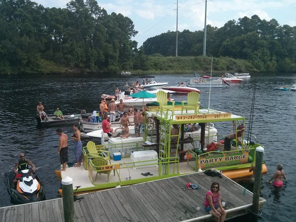 Charter Boat Boat Tour Living Large Party Barge North