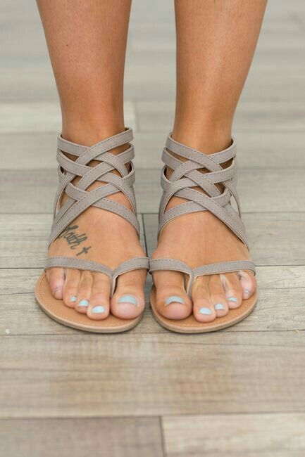680107608 large size new arrival women gladiator summer boots strappy pu leather  bandage lace up thong clip ring toe flat cut out sandals