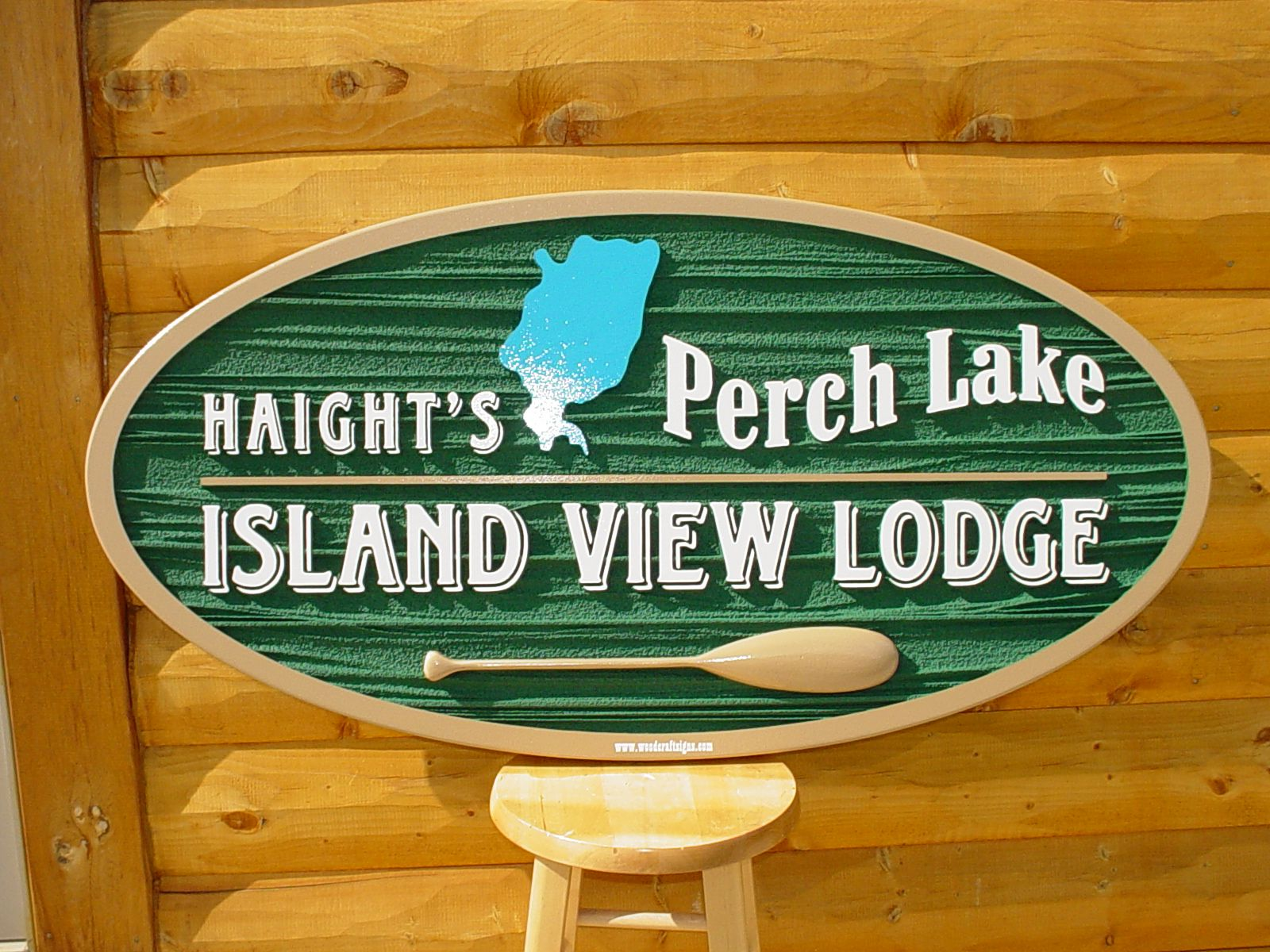 Designed for Haight's Perch Lake Island View Lodge