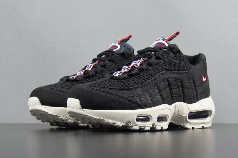 huge selection of ca85a 309b2 Authentic 2018 Nike Air Max 95 TT Pull Tab Black Sail Gym Red AJ1844-002  Nike Air Max 95 On Line