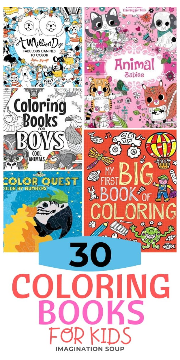 20 Best Coloring Books For Kids Ages 3 To 18 Coloring Books For Kids Coloringbooksforkids Too M Coloring Books Kids Coloring Books Coloring Pages For Kids