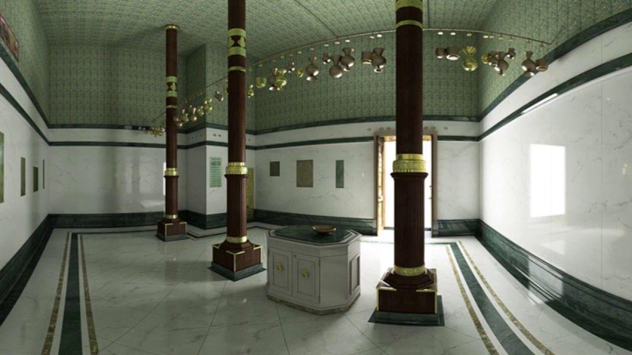 Inside Kaaba 360 Islamic Architecture Khana Kaba Islam