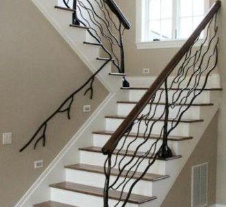 Custom Metal Stair Handrails