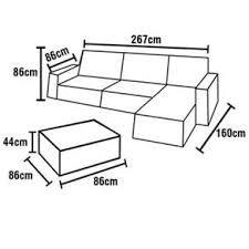 Resultado de imagen para medidas de sofa house - Medidas de sofas chaise longue ...