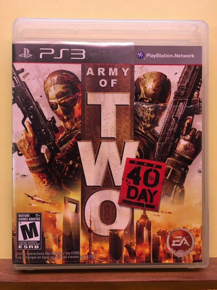 Army of Two: The 40th Day (Sony PlayStation 3, 2010) #ps4