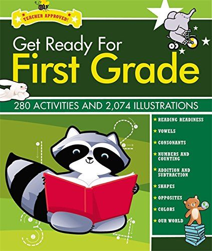 Get Ready for First Grade Revised and Updated (Get Ready ... https://www.amazon.com/dp/1579128696/ref=cm_sw_r_pi_dp_x_n7Lcyb4TR5VBK