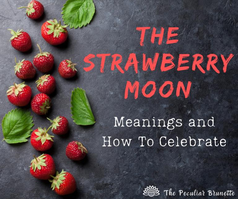 June Full Strawberry Moon Spiritual Meaning Symbolism And Rituals In 2021 Moon Meaning Strawberry Moons Full Strawberry Moon