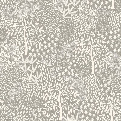 Devine Color Woodland Mirage & Lightning Wallpaper Grey