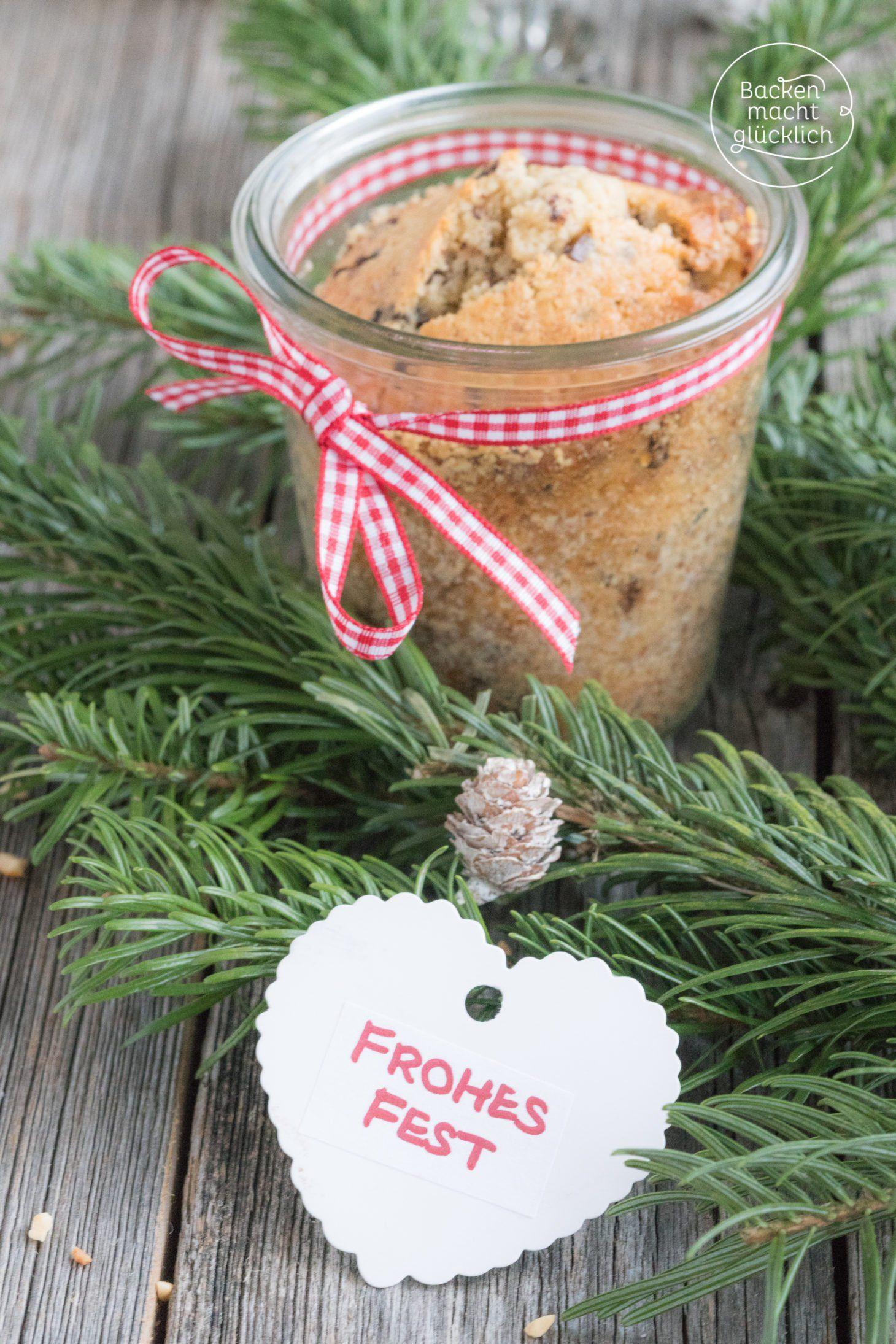 Weihnachtskuchen im Glas | Backen macht glücklich | Rezept