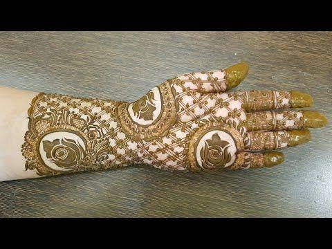 Henna Mehndi Edinburgh : Wedding special mehndi design for hand youtube art