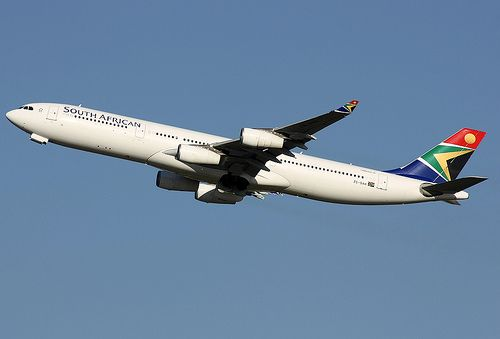 ZS-SXH  South African Airways   Airbus A340-313