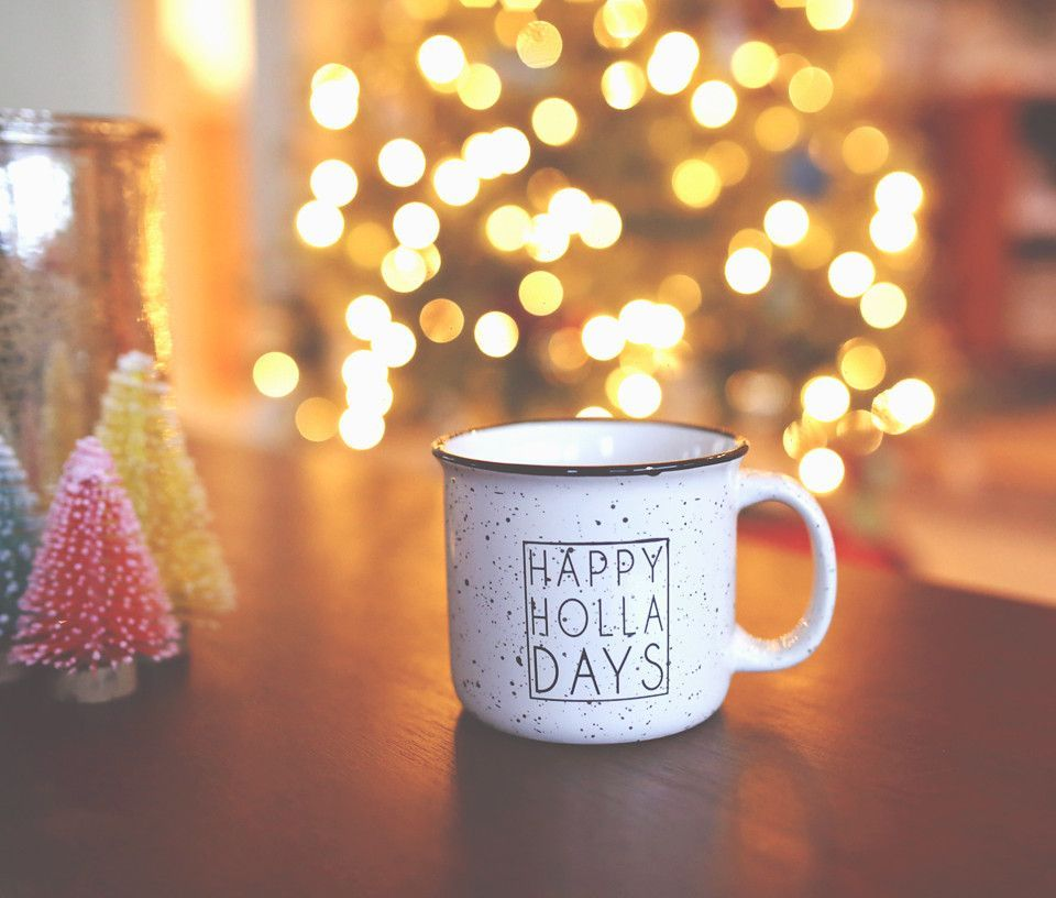 """HAPPY HOLLA DAYS"" Campfire mug"