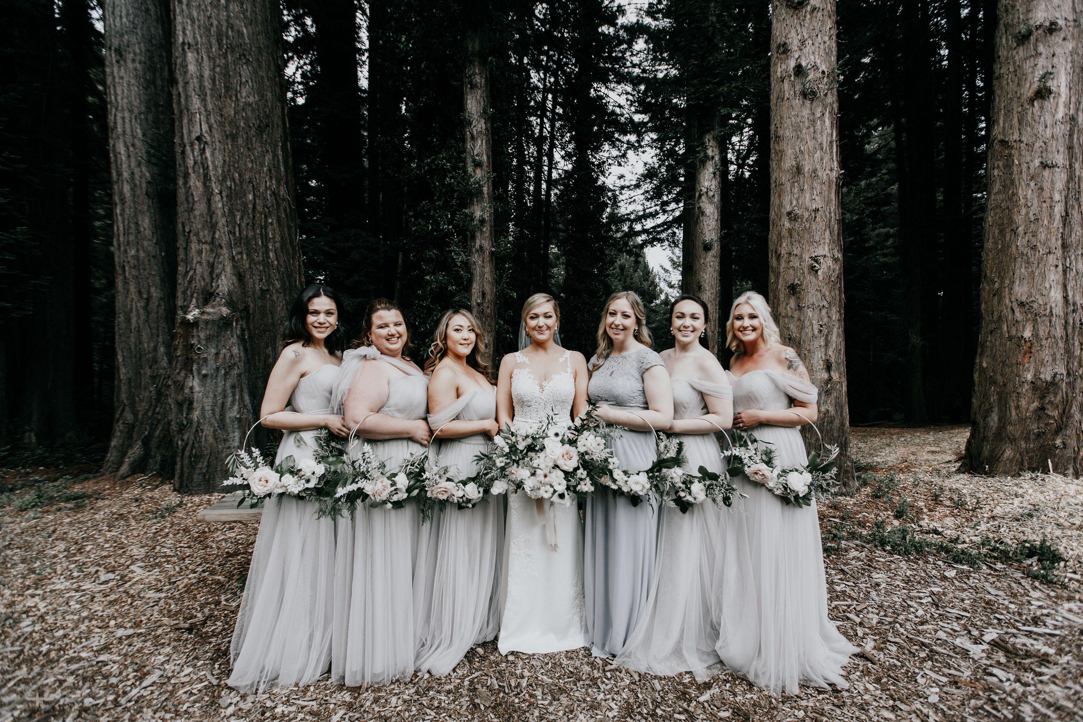 Moody Garden Style Wedding at The Mountain Terrace