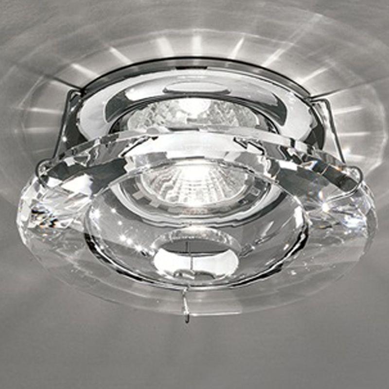 Franklite Crystal Chrome Low Voltage Downlight Rf244 Downlights Ceiling Lights Wall Lights