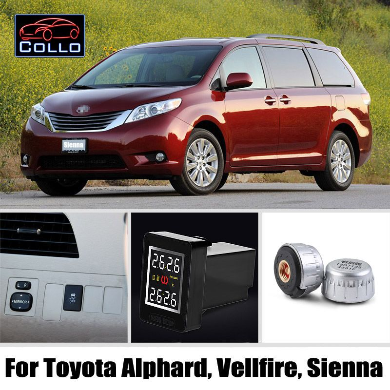 Special Tpms For Toyota Alphard Vellfire Sienna Tire Pressure Monitoring System Of Externa Toyota Alphard Car Electronics Tire Pressure Monitoring System