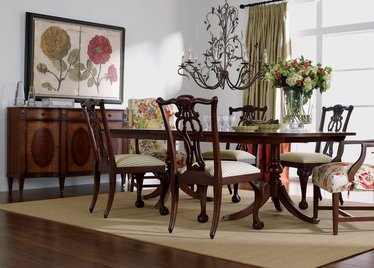 Abbott Dining Table Ethan Allen F L O R A Pinterest Inspiration Room Review