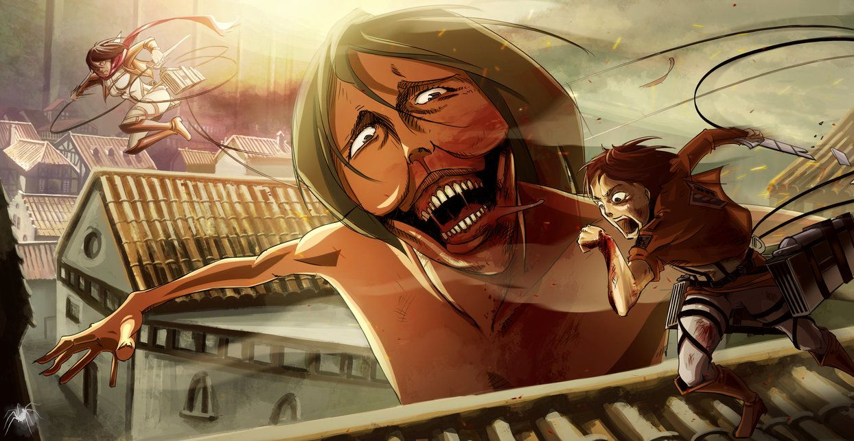 Attack on titan Eren's revenge by Reicheran on