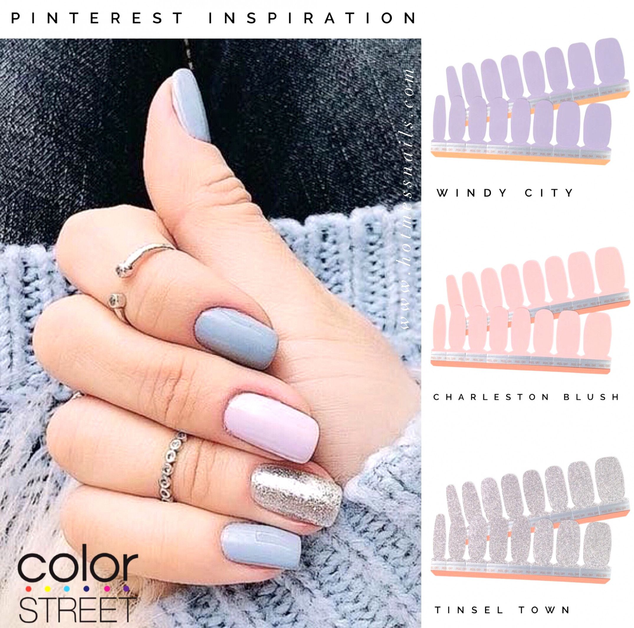 Use These Shades To Create At Home Manicure With 100 Dry Nail Polish For A Fraction Of The Cost Becolorstreet Color Street Nails Dry Nails Dry Nail Polish