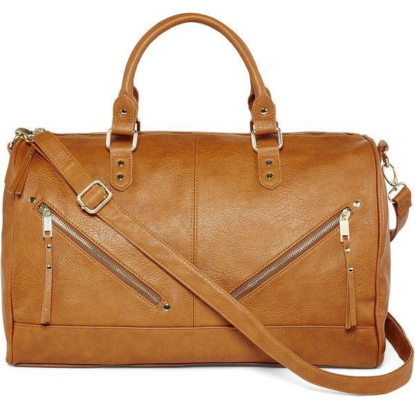 Dolce Girl Margot Oversized Satchel Bag ($35) ❤ liked on Polyvore ...