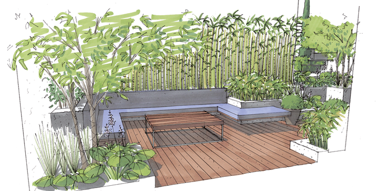 perspectives architecte paysagiste thomas gentilini cr ation et am nagement jardin. Black Bedroom Furniture Sets. Home Design Ideas