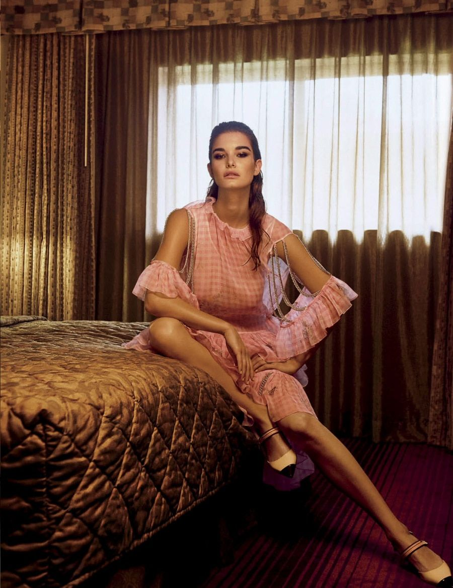 Vogue mexico january ophelie guillermand by trent mcginn