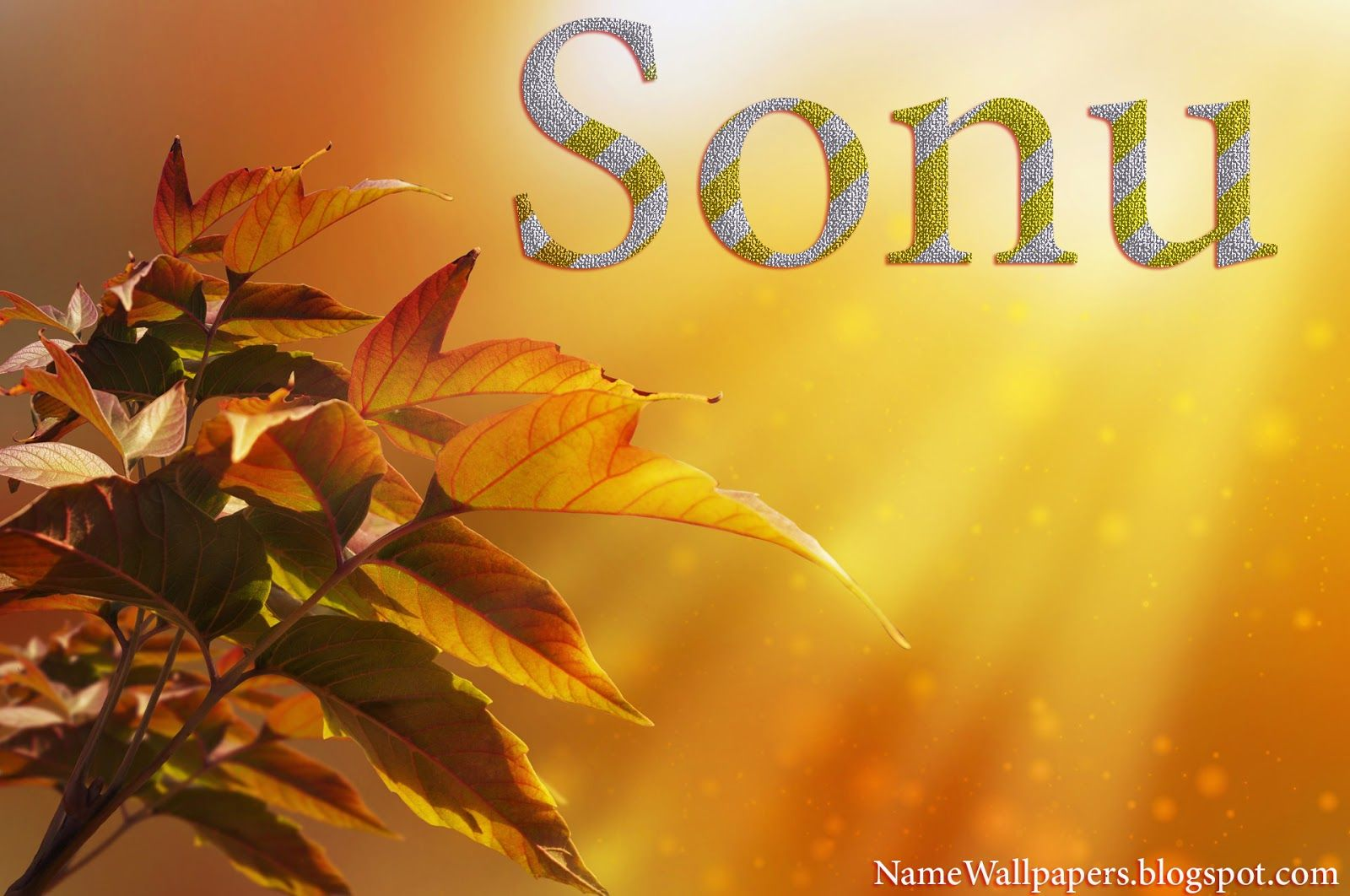 Sonu Name Wallpapers