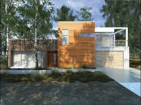 Sketchup Tutorial Vray Sketchup Exterior Youtube Forest