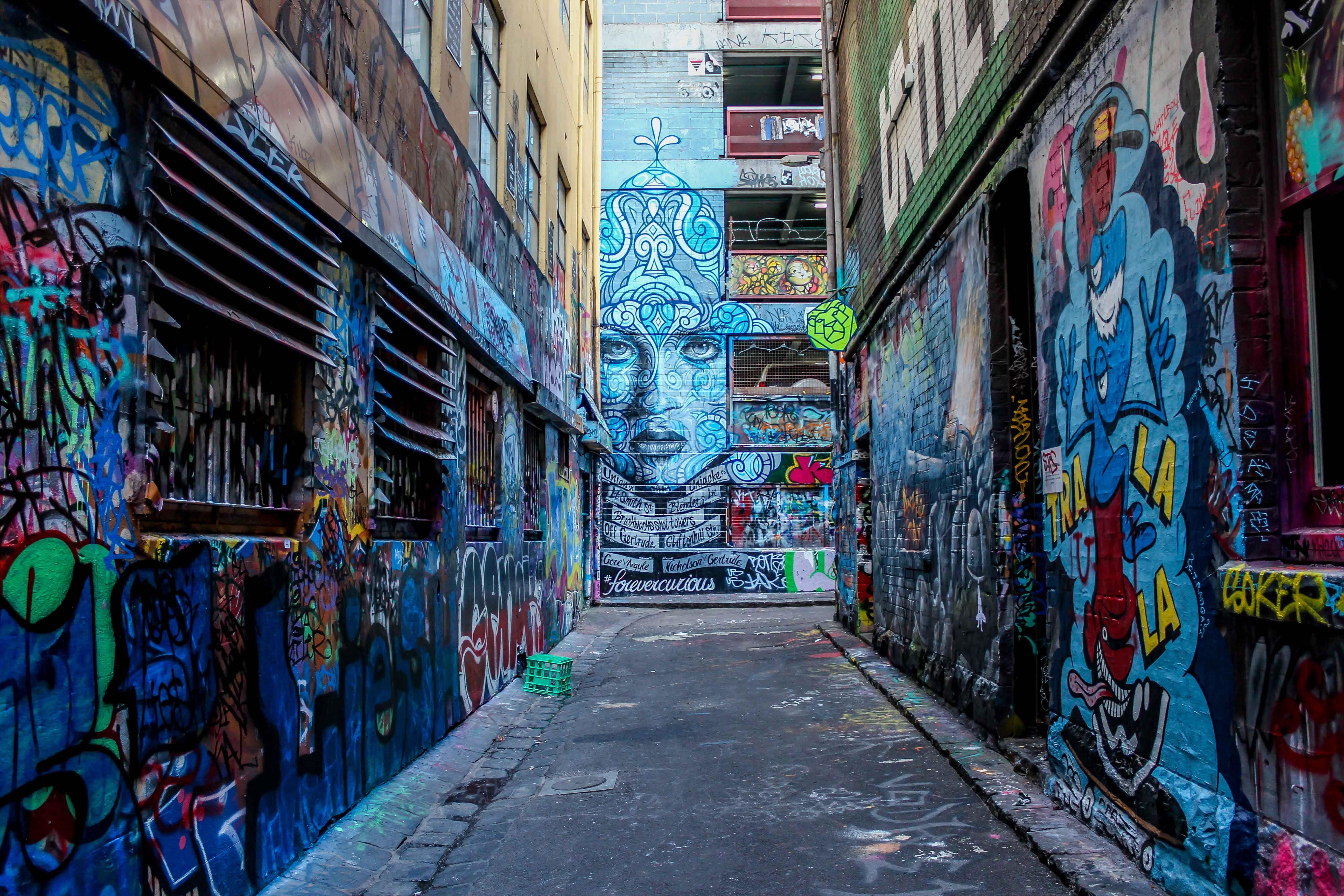 Hosier Lane Street Art Melbourne Graffiti Melbourne