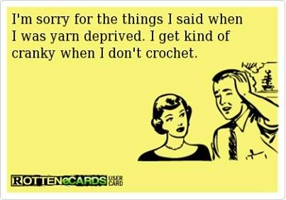 Yarn deprived