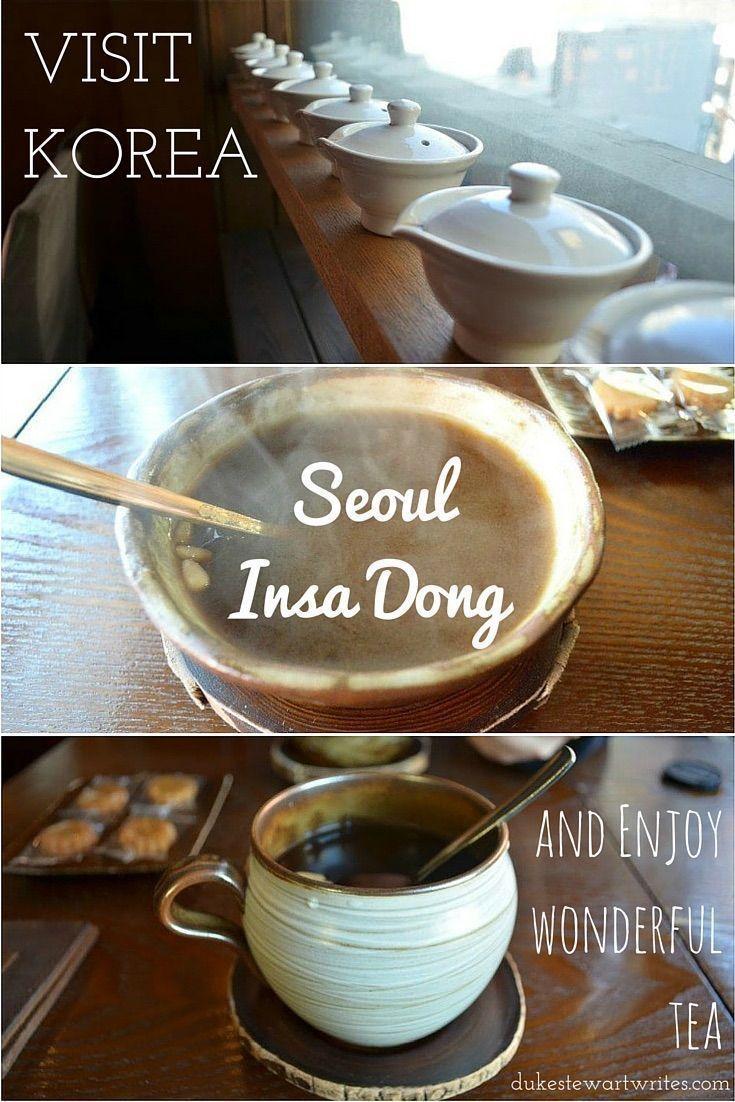 Seoul, Insa Dong and Tea