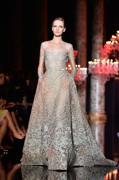 The Elie Saab Wedding Dress And 3 More Wedding Y Dresses From The Couture Show Elie Saab Wedding Dress Couture Gowns Gowns