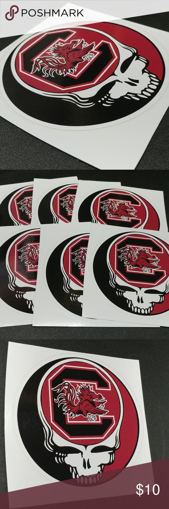 South Carolina Shield Sticker South Carolina Gift Bumper Stickers South Carolina [ 1106 x 1106 Pixel ]
