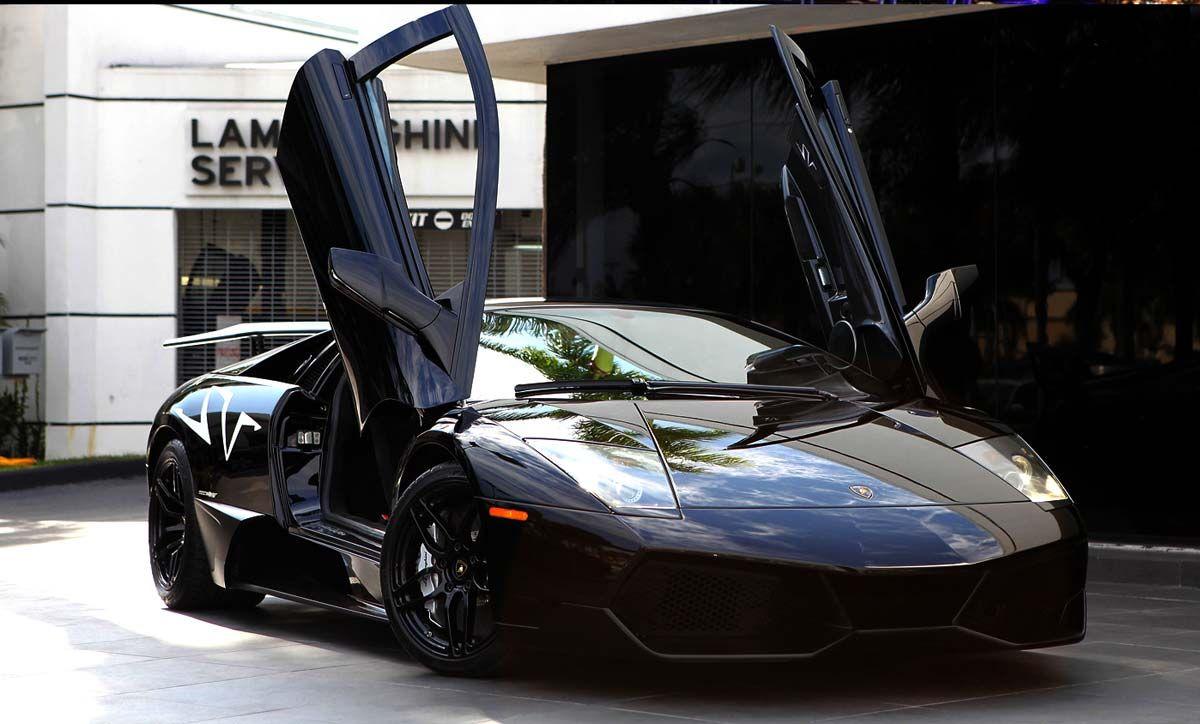 Black Lamborghini Murcielago Sv For Sale In Miami Lamborghini