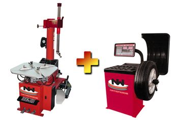 Nationwide Nw 950 Tire Changer With Nw 953 Wheel Balancer Combo Combo Tire Wheel