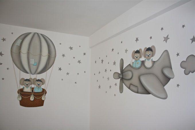 Habitaci n infantil decorada recamara pinterest kids - Habitaciones pintadas infantiles ...