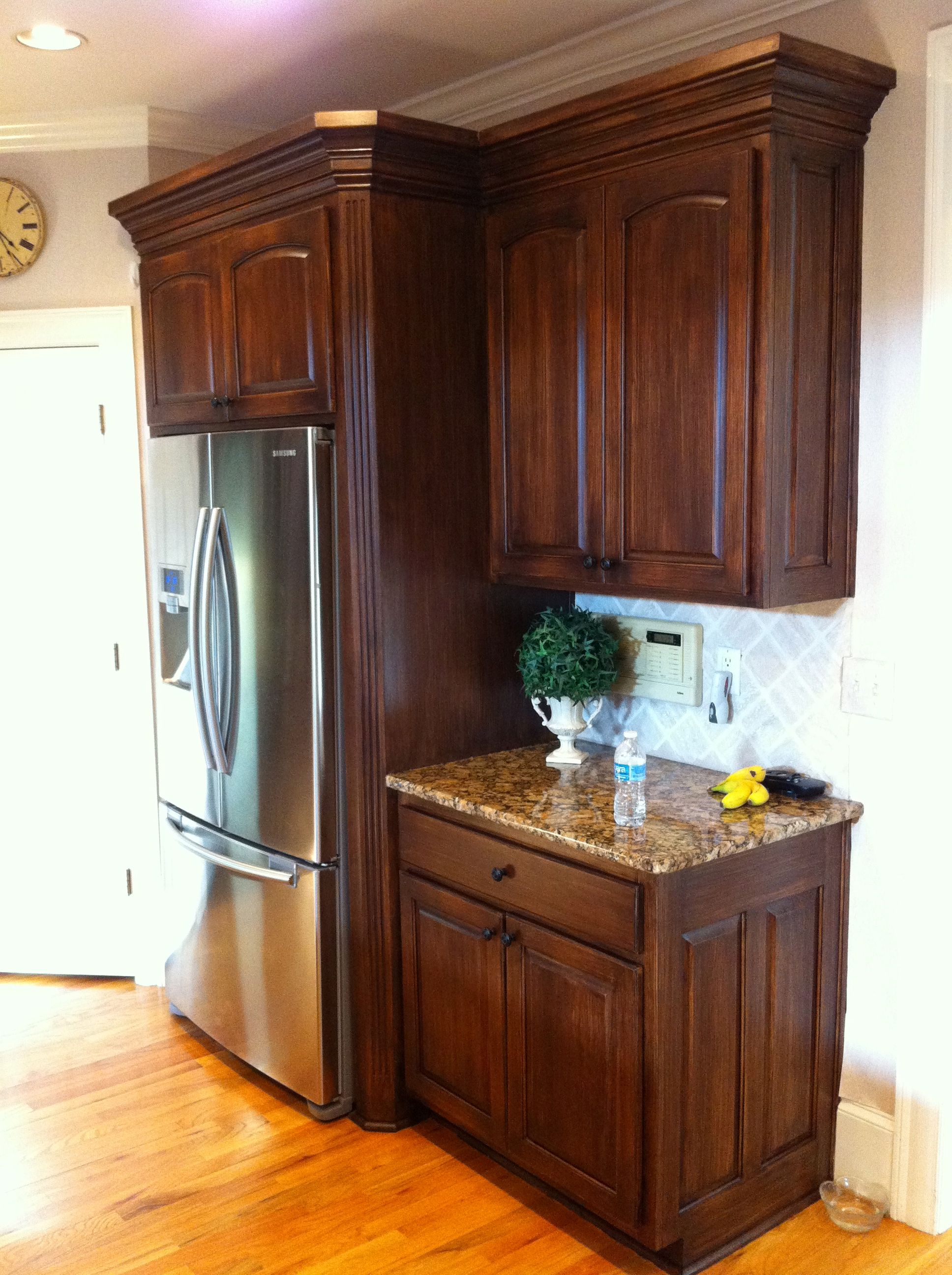 Best Faux Wood Grain On Mdf Kitchen Cabinets By Www Kbwalls Com 640 x 480