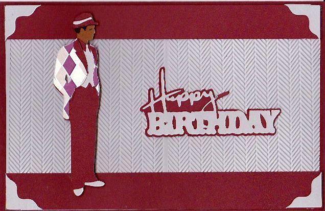 Masculine Birthday Cards Made With Cricut ~ For the boys cardsbyann