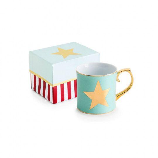 Fa La La Mint Star Mug
