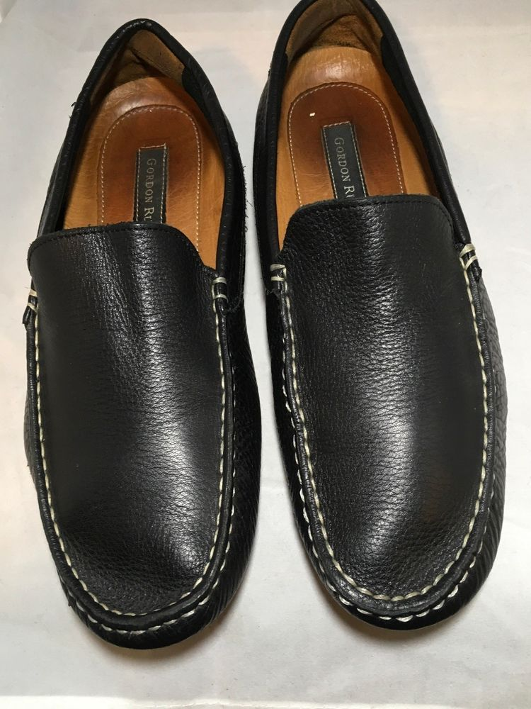 4f0ff687d8637 Gordon Rush Men's Shoes Size 10(US) Loafers Slip On Black Leather Upper  #fashion #clothing #shoes #accessories #mensshoes #dressshoes (ebay link)