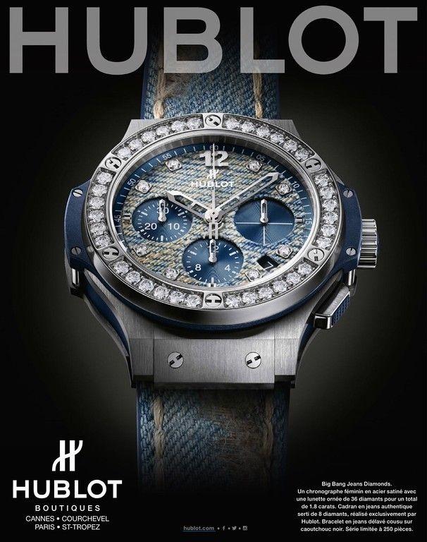 91279fba4d Hublot Watch Advertising Gents Watches