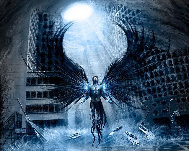 Fallen Angel Wallpaper Dark Angel Wallpaper Dark Fantasy Art Anime dark angel iphone wallpaper