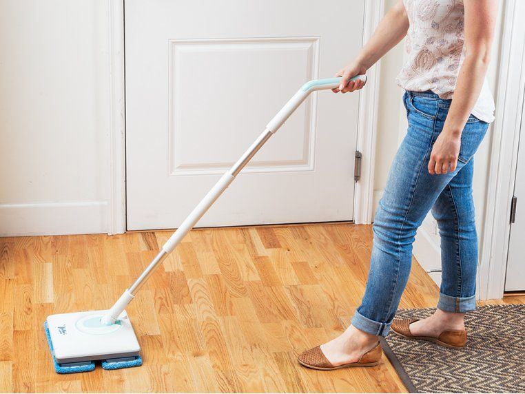 Oscillating Floor Mop The Grommet Flooring Floor Cleaning Solution Cleaning Stainless Steel Appliances