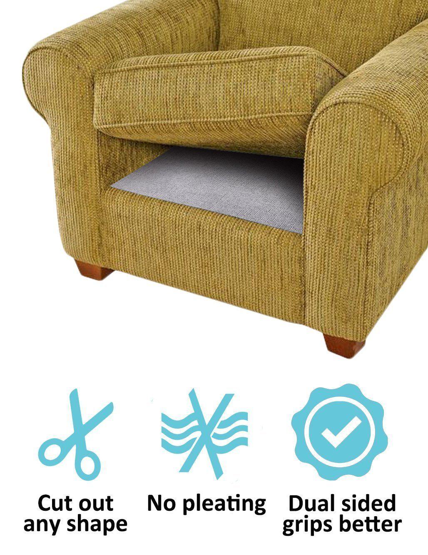 Bls Cushion Nonslip Underlay Non Slip Grip Pad Keep Sofa Couch Cushions From Sliding Or Slipping Stop Mat Futon Bay Wi Couch Cushions Cushions On Sofa Cushions