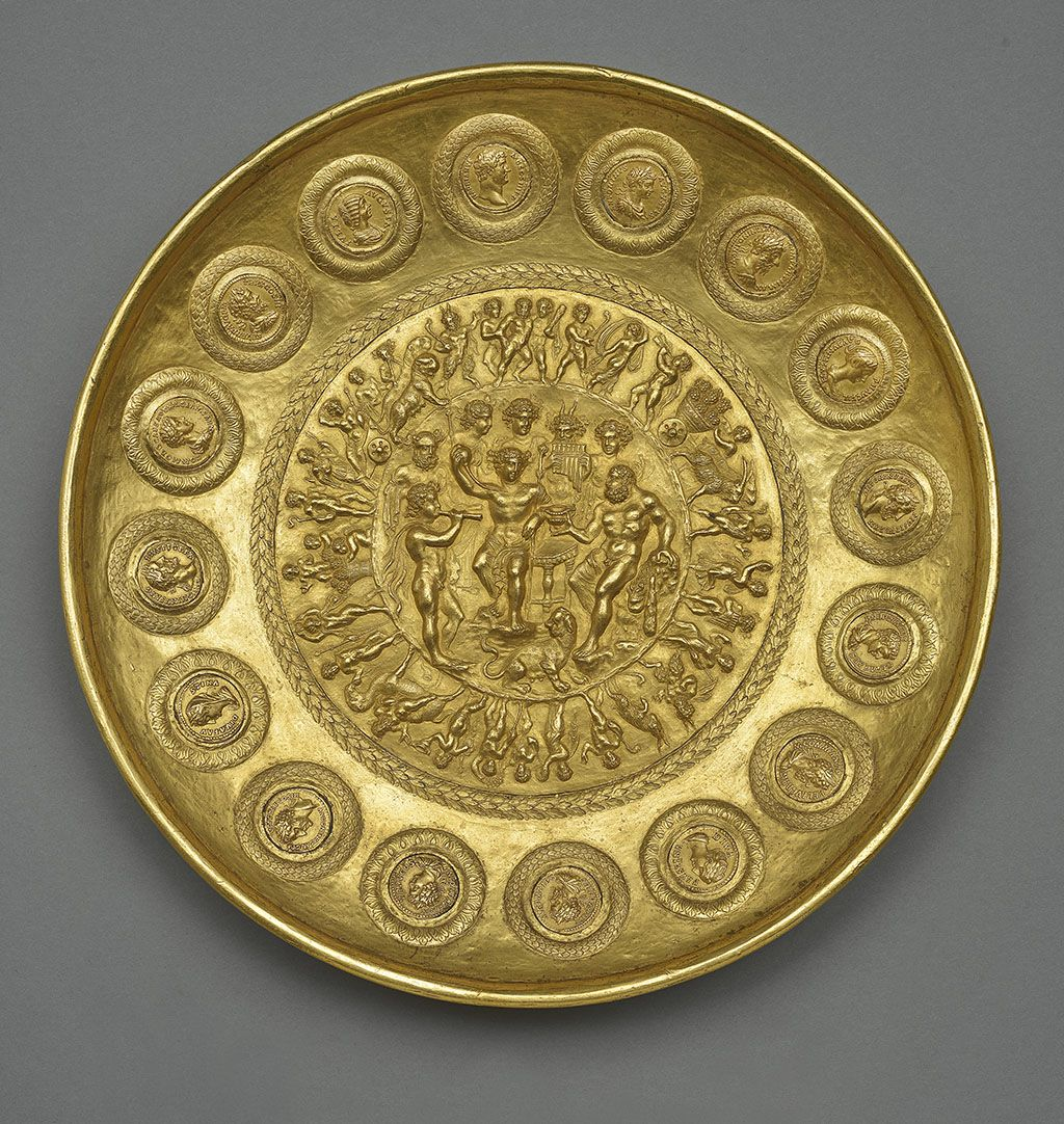 Ancient Luxury And The Roman Silver Treasure From Berthouville At