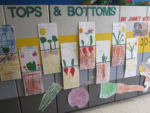Tops And Bottoms By Janet Stevens Tops And Bottoms Pinterest