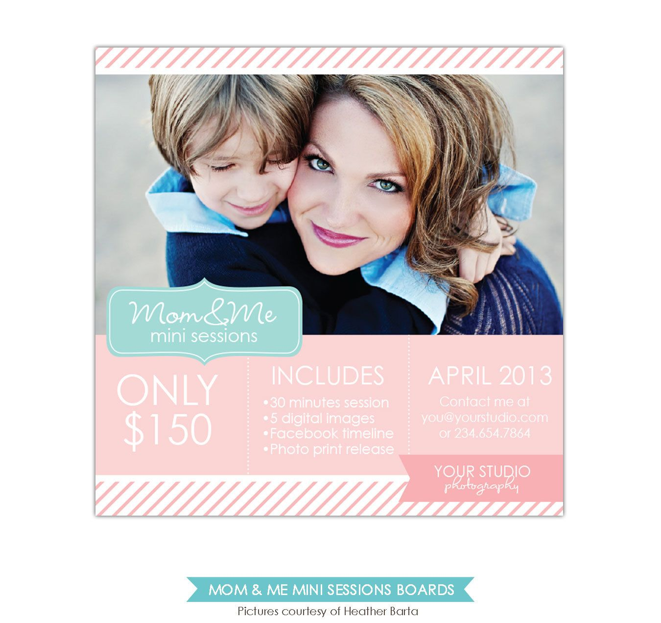 mother s day mini session template psd newsletter template e766